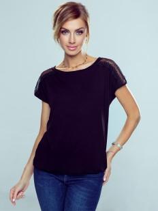 Женская свободная футболка из вискозы