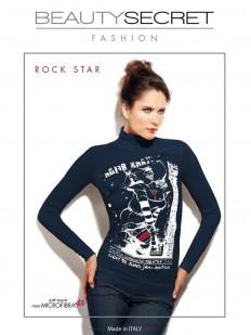Бесшовная водолазка Beauty Secret ROCK STAR