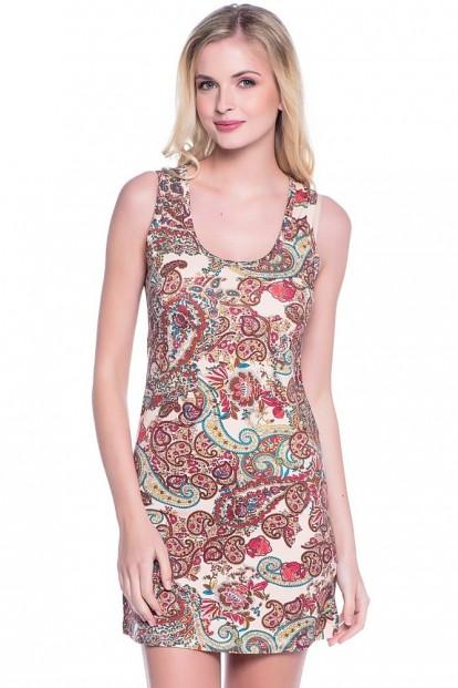 Женское хлопковое летнее платье Alla Buone 99005 Pigama - фото 1