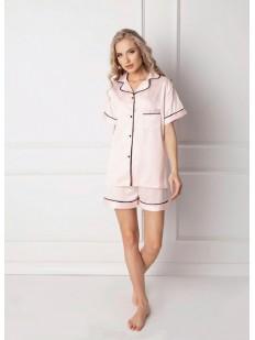 Атласная пижама ARUELLE Classy pink