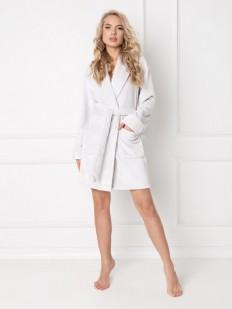 Теплый халат ARUELLE Elly grey