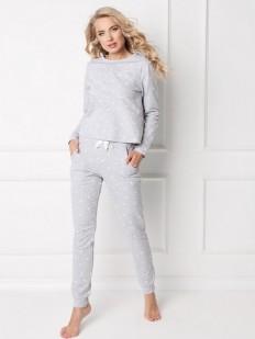 Хлопковый костюм ARUELLE Hearty grey