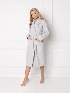 Теплый халат ARUELLE Kate grey