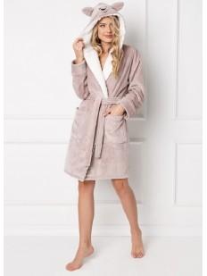 Теплый халат ARUELLE Woof