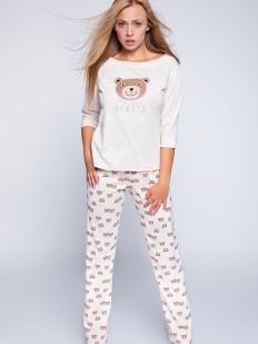 Хлопковая женская пижама со штанами и мишками Sensis Bear