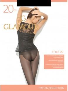 Классические колготки с трусиками Glamour STYLE 20