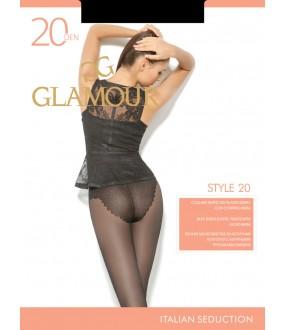 Эластичные колготки Glamour STYLE 20