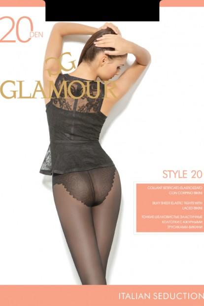 Классические колготки с трусиками Glamour STYLE 20 - фото 1