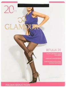 Классические матовые колготки Glamour BETULLA 20