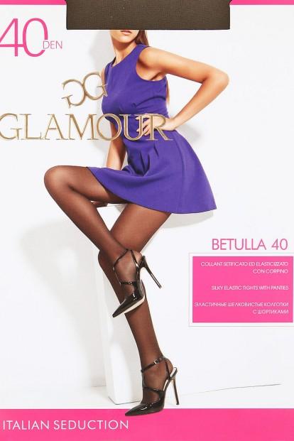 Классические матовые колготки с шортиками Glamour BETULLA 40 - фото 1