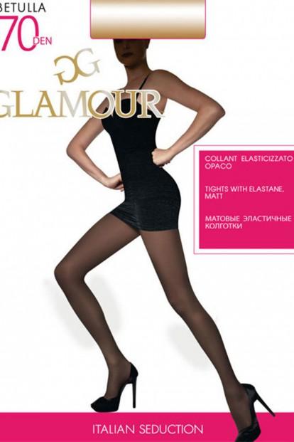 Плотные матовые колготки Glamour BETULLA 70