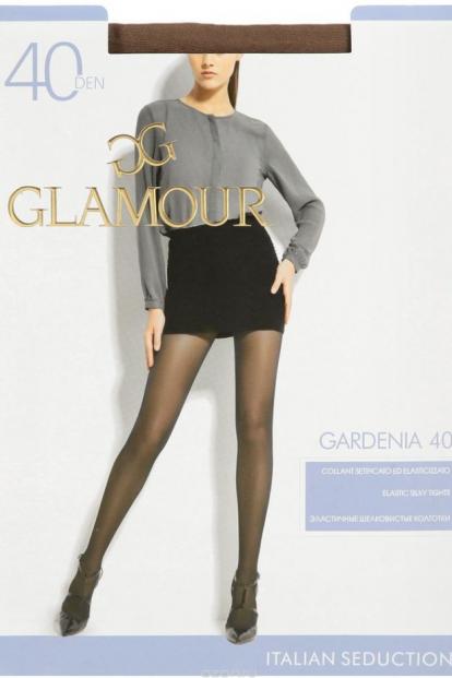 Классические колготки с шортиками Glamour GARDENIA 40 - фото 1