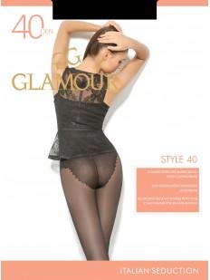 Классические колготки с трусиками Glamour STYLE 40