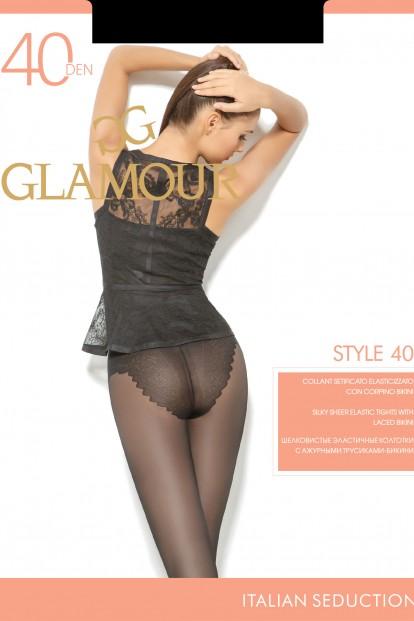 Классические колготки с трусиками Glamour STYLE 40 - фото 1
