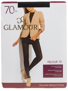 Матовые колготки Glamour VELOUR 70