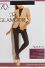 Плотные матовые колготки с микрофиброй Glamour VELOUR 70 - фото 1