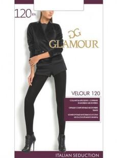 Теплые матовые колготки Glamour VELOUR 120