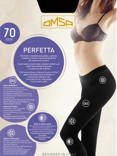 Плотные колготки Omsa Perfetta 70