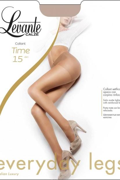 Летние матовые колготки Levante TIME 15 - фото 1