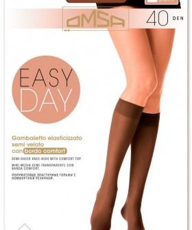 Женские гольфы Omsa Easy Day 40 Gambaletto