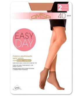 Полупрозрачные носки Omsa EASY DAY 40 (2 п.)
