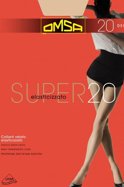 Классические колготки с шортиками Omsa SUPER 20 - фото 1