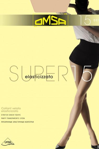 Классические летние колготки Omsa SUPER 15 - фото 1