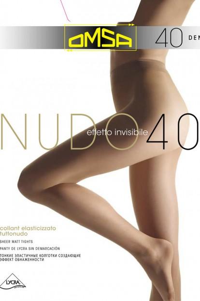 Классические женские колготки Omsa NUDO 40