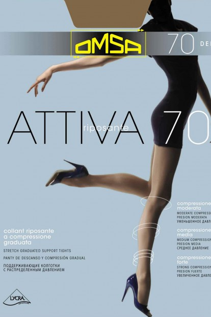 Поддерживающие колготки Omsa ATTIVA 70 - фото 1