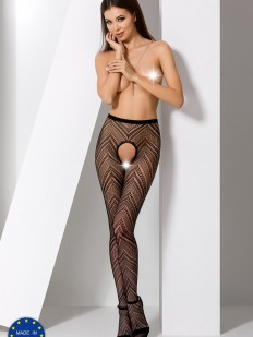 Колготки Passion S 010 Black Erotic Line