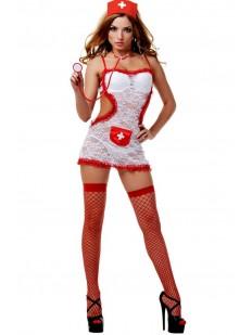 Женский эротический костюм для ролевых игр Le Frivole 02803 Doctor