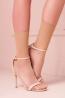 Тонкие высокие прозрачные женские носки без резинки Trasparenze JACK 15 calzino - фото 1