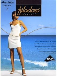 Классические летние колготки Filodoro Classic ABSOLUTE 8 den