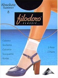 Женские носки Filodoro Classic Absolute 8 Calzino