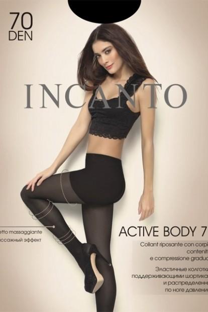 Поддерживающие колготки с шортиками Incanto ACTIVE BODY 70 - фото 1
