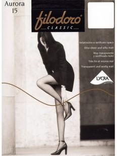 Классические летние колготки Filodoro Classic AURORA 15