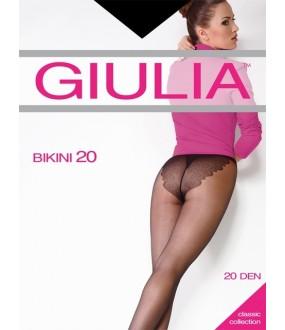 Тонкие матовые колготки Giulia BIKINI 20