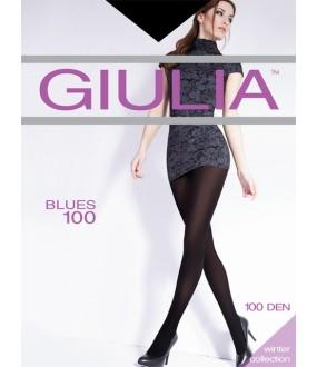Матовые непрозрачные колготки Giulia BLUES 100