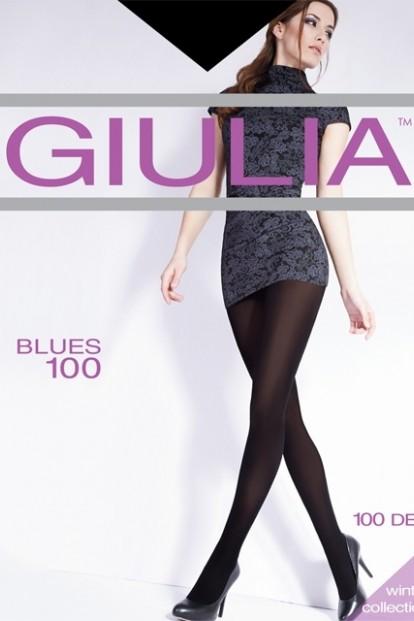 Плотные цветные колготки Giulia BLUES 100 - фото 1