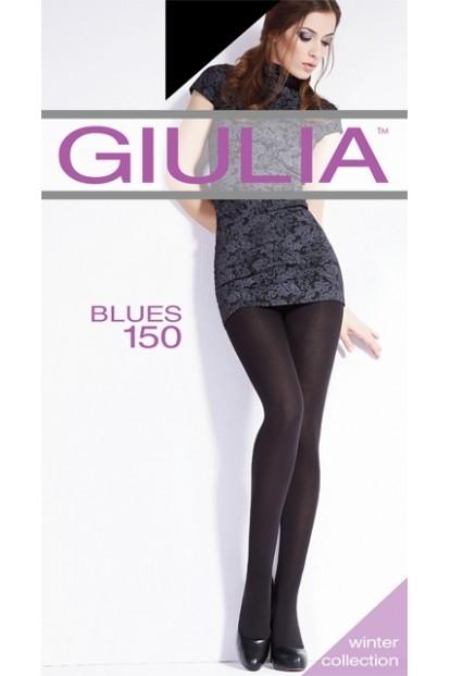 Теплые матовые колготки Giulia BLUES 150