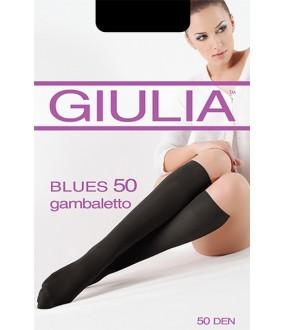Матовые гольфы Giulia BLUES 50 microfibra