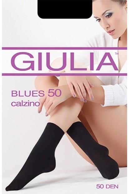 Непрозрачные матовые носки GIULIA BLUES 50 microfibra