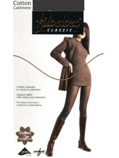 Теплые колготки с кашемиром Filodoro Classic COTTON CASHMERE 100