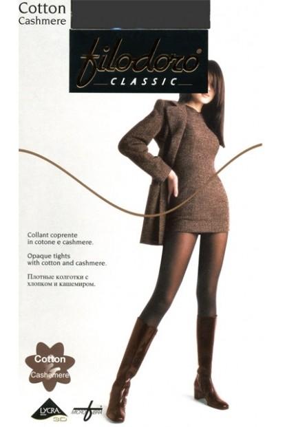 Теплые кашемировые колготки Filodoro Classic Cotton Cashmere