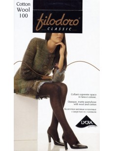 Колготки Filodoro Classic Cotton Wool 100