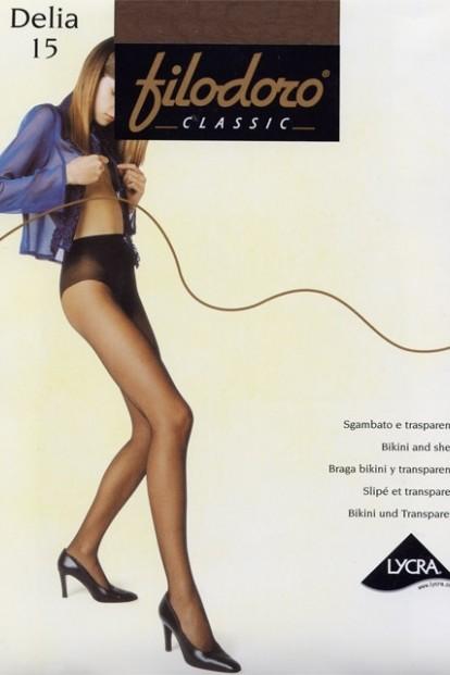Летние колготки с трусиками Filodoro Classic DELIA 15 - фото 1