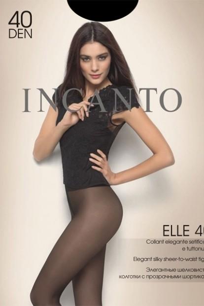 Классические женские колготки Incanto ELLE 40 - фото 1