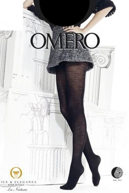 Теплые шерстяные колготки Omero Ermete 80 Lana