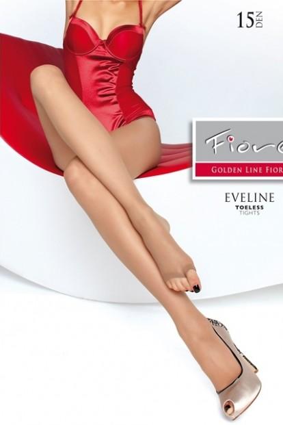 Тонкие колготки без мыска Fiore Eveline 15 Den
