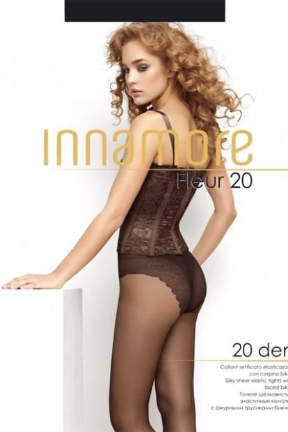 Классические колготки с трусиками Innamore FLEUR 20 - фото 1